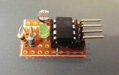ATtiny85 as light sensor with I2C bus
