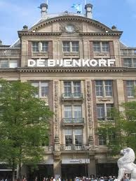 De Bijenkorf, means Beehive, but is a huge and very old department store in Amsterdam