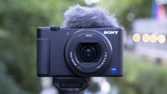 The Sony is the best compact vlogging camera you can buy here's why Big Camera, Camera Frame, Camera World, Sony Camera, Digital Camera, Camera Shutter, Best Vlogging Camera, Best Dslr, Gopro
