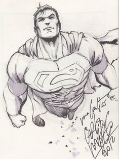 Superman Comic Art
