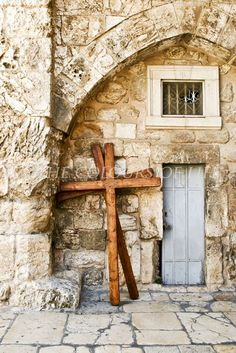 Holy Sepulcher photography two crosses in the by thecoloursoflife on etsy.