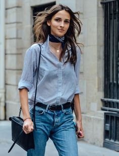 I kind of like this little neckerchief look that's going on , but the fact this trend is going to reach fast fashion scale by the summer really puts me off.