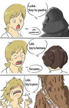 Ser Luke Skywalker no es tan fácil como piensas. | 22 Chistes que solo los amantes de Star Wars entenderán