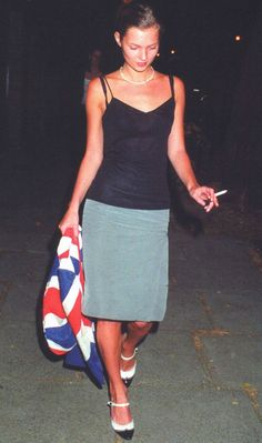 Kate Moss in London, June 1994