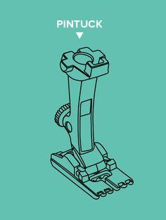 All About Presser Feet | Pintuck Foot
