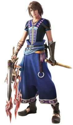 Final Fantasy XIII - Noel Kreiss. Not going to lie, one of my least favorite characters in any final fantasy title.