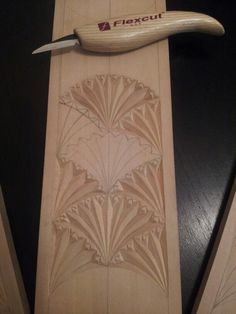 Chip carved cross , design and cutting