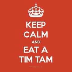 A Tim Tam & a cuppa - the cure all for anything!