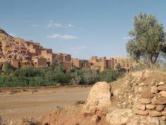 village d ait benhaddou sud du maroc