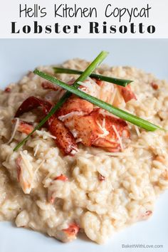 cooking tips - We tend to binge watch Gordon Ramsay shows and since Hell's Kitchen frequently features Lobster Risotto, we have always loved the look (and tantalizing taste!) of Gordon Ramsay Hell's Kitchen Lobster Risotto Recipe So, we thought we'd try t Lobster Recipes, Fish Recipes, Seafood Recipes, Dinner Recipes, Cooking Recipes, Cooking Tools, Cooking Icon, Quirky Cooking, Cooking Courses