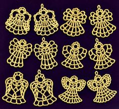 tiny lace angels