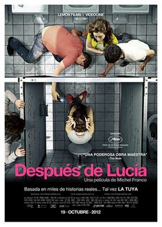 """After Lucia"" (Mexico), the tragic consequences of bullying at school. Starring Tessa Ia."