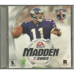 PC Software Game EA Sports Madden NFL Football 2002 CD-ROM Windows 95 98 2000 ME Listing in the PC Engine,Vintage & Retro,Video & Computer Gaming Category on eBid Canada | 156212364 CAN$10.00 + Shipping
