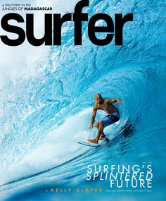 Great @SURFER Magazine cover featuring Kelly Slater (September 2011)