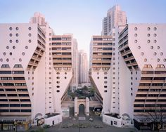 Used as a location for 'The Hunger Games,' the hulking apartment complexes outside of Paris are part of a once-grand utopian ideal.