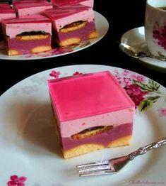 "Ciasto ""Fiona"" - Przepis - Słodka Strona Best Cookie Recipes, Cake Recipes, Dessert Recipes, Sweets Cake, Polish Recipes, Party Treats, Food Cakes, Homemade Cakes, Creative Cakes"