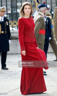 Princess Letizia of Spain attends 'Pascua Militar' at the Royal Palace on January 6, 2010 in Madrid, Spain.