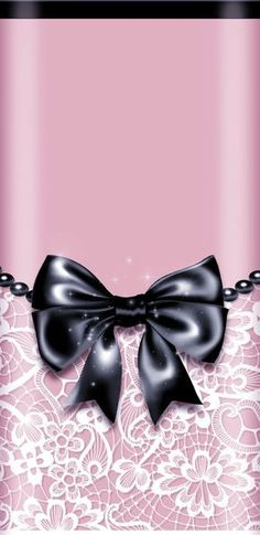 By Artist Unknown. Bow Wallpaper, Phone Background Wallpaper, Kawaii Background, Pretty Phone Wallpaper, Wallpaper For Your Phone, Pretty Wallpapers, Cellphone Wallpaper, Screen Wallpaper, Wallpaper Backgrounds