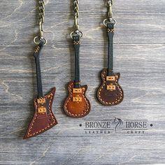 """66 Likes, 14 Comments - ★Bronze Horse★Изделия из кожи (@gorodkov_av) on Instagram: """"Готовы новые три гитары-подвесы с кармашком на тыльной стороне для медиатора. Натуральная кожа,…"""""""