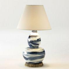 Brush Stroke Lamp (Blue)