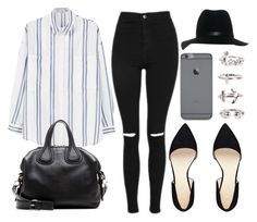 Style #10858 by vany-alvarado on Polyvore featuring MANGO, Topshop, Nine West, Givenchy, NLY Trend and rag & bone