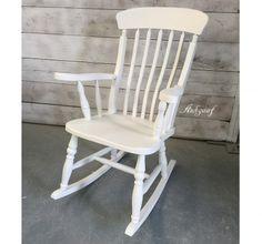 """Witte schommelstoel """"Heiko"""""""