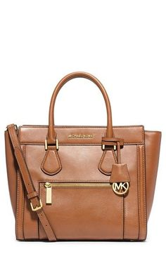 Rhea backpack by MICHAEL Michael Kors. A structured MICHAEL Michael Kors backpack in pebbled leather. Polished logo lettering accents th. Boutique Michael Kors, Outlet Michael Kors, Sac Michael Kors, Handbags Michael Kors, Mk Handbags, Designer Handbags, Designer Purses, Cheap Handbags, Cheap Bags