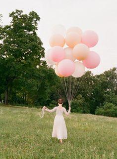 """Blush, Ivory, Pastel Pink or White 36"""" Round Latex Balloon Latex Balloons Pastel Balloons by PomJoyFun on Etsy https://www.etsy.com/listing/205149110/blush-ivory-pastel-pink-or-white-36"""