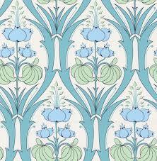 arts nouveau wallpaper bird - Google Search