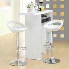 2 pcs Kitchen Breakfast Bar Stool Swivel Counter Chair Footrest Barstools New
