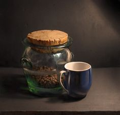 Still Life with Coffee Beans by ReneAigner