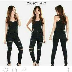 """""Celana jeans ripped CK HW Material: soft jeans Harga: 135 ribu Warna: hitam Order PIN 5A1F32FA & SMS/WA 087722-575-101  Reseller & Dropship Welcome!  Happy Shopping! :) #jamtangan #jamtanganwanita #jammurah #grosirjam #grosirbandung #jamcewek #jamtangancewek #jambandung #jamtanganterbaru #resellerjamtangan #grosirjamtangan #grosirjamtanganwanita #suplierjamtangan #jamtanganartis #olshop #jamfashion #jamoriginal #resellerwelcome #sepatu #celanajeans #sepatubandung Ripped Jeans, Black Jeans, Happy Shopping, Instagram Posts, Pants, Fashion, Tattered Jeans, Trouser Pants, Moda"