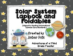 Solar System Lapbook & Foldables {Common Core} $6.00