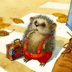 Ежик (the little hedgehog)