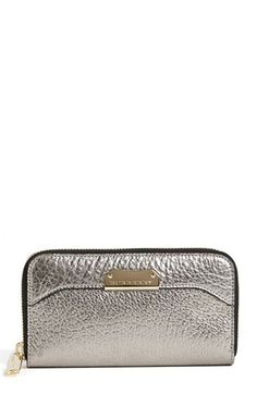 Gift Style: Burberry Zip Around Wallet @Nordstrom