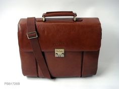 Genuine Baggage - Pierre Cardin  Classic Leather Briefcase in Brown, 30% off for Father's Day @ClickFrenzy Sale $360.85 (http://www.genuinebaggage.com.au/pierre-cardin-classic-leather-briefcase-in-brown/)