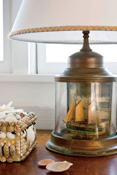 Coastal and nautical home decorating. Give your home that beachy sensation with design themes like anchors, starfish, sailboats Nautical Home Decorating, Nautical Bathroom Design Ideas, Nautical Bathrooms, Coastal Art, Coastal Style, Nautical Style, Coastal Cottage, Coastal Homes, Nautical Theme