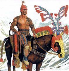 Saka Prince - Pazyryk Culture