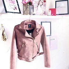 Blush Pink Jacket from Primark, blush pink, blush pink jacket, pink biker jacket, primark
