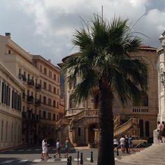 #Rocher Хочется лета и солнца)))) Воспоминания о Монако)))) #Monaco #Mонако #лето #отдых #отпуск #солнце #пальмы #море  from #Montecarlo #Monaco