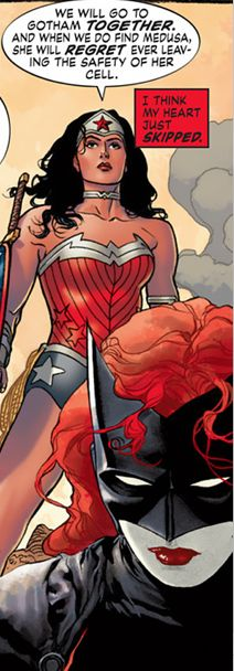 Mine would too, Kate.  (Williams New 52 Batwoman)