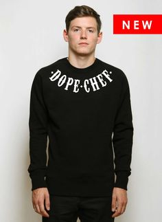 Dope Chef - .Dope Chef Tattoo sweatshirt £60.00