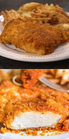 CORNFLAKE CHICKEN RECIPE  We like to add paprika, salt, pepper and dry mustard to the cornflake crumbs for flavor. This gives it a classic fried chicken taste. Easy Chicken And Rice, Easy Chicken Recipes, Salmon Recipes, Easy Dinner Recipes, Easy Recipes, Easy Meals, Cooking Recipes, Healthy Recipes, Crispy Oven Fried Chicken