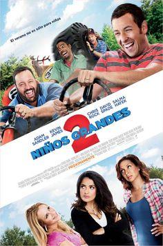 Niños grandes 2 el póster oficial de la película :)