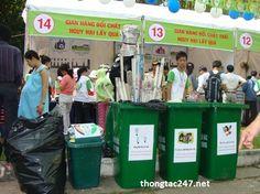 Cùng nhau tái chế rác giảm ô nhiễm môi trường