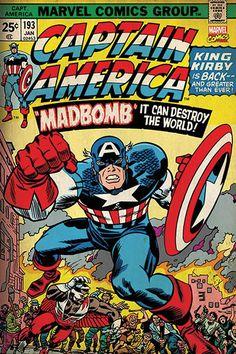Captain America Retro - Madbomb
