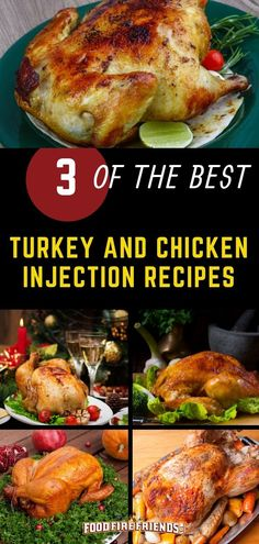 Want to avoid serving dry poultry? Of course you do, so what you will want is one the chicken and turkey injection recipes from our guide. recipe injection Best Chicken and Turkey Injection Recipes Rub Recipes, Grilling Recipes, Meat Recipes, Cooking Recipes, Grilling Tips, Smoker Recipes, Outdoor Grilling, Dinner Recipes, Chicken Injection Recipes