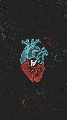 My heart is twenty øne piløts