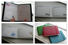 DIY Disney World Passport Book and Autograph Book - she's included the files for download. Thank you! MouseTalesTravel.com  #MTT #disneydiy #easycrafts