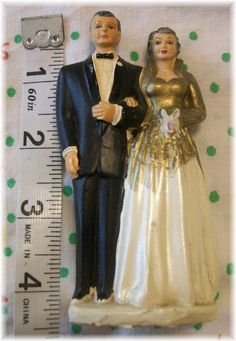 Cake topper for 50th wedding anniversary